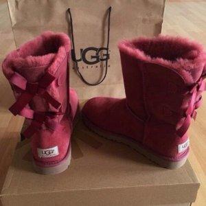$99UGG Bailey Bow II Shearling Boots