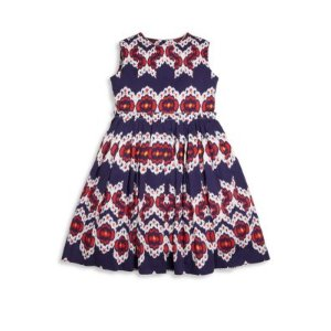 Toddler's, Little Girl's & Girl's Ikat Cotton Gathered Skirt Party Dress