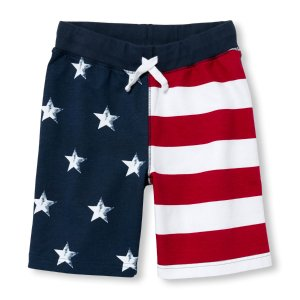 Boys Americana Flag Knit Shorts | The Children's Place