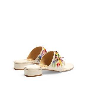 Swarovski-embellished sandals | Rosie Assoulin