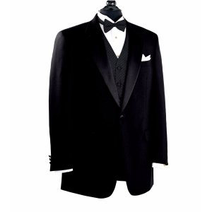 $69Jos. A. Bank Executive Collcetion Traditional Fit Notch Collar Tuxedo Jacket