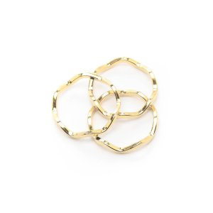 A.V. Max Crinkle Rings Set of 3 | South Moon Under