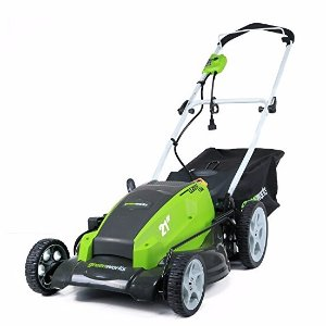 $107.86 GreenWorks 25112 13 Amp 21-Inch Corded Lawn Mower