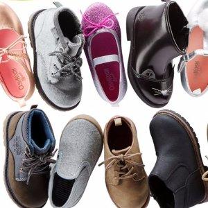 $15-16Kids Shoes Doorbuster @ OshKosh BGosh