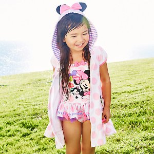 Minnie Mouse Happy Helpers Swim Cover-Up for Girls - Personalizable | Disney Store