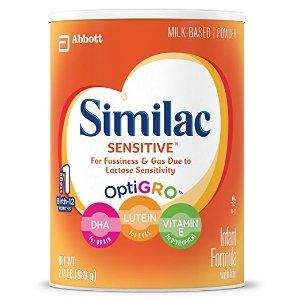 Similac Sensitive 雅培婴儿1段配方奶粉3罐