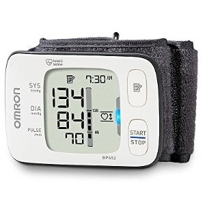 $39.49 (Orig$50.99) Omron Clinically Proven Accurate with Heart Zone Guidance 7 Series Wrist Blood Pressure Monitor