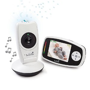 Summer Infant® Baby Glow 2.8-Inch Color LCD Video Baby Monitor & Projection Camera