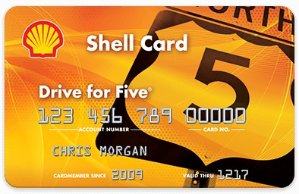 Nationwide acceptance at thousands of Shell locationsShell Drive for Five® Card