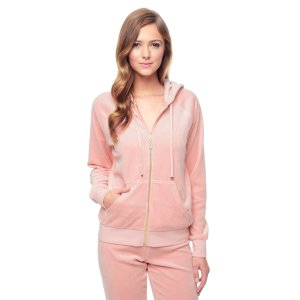 J BLING RELAXED VELOUR JACKET - Juicy Couture