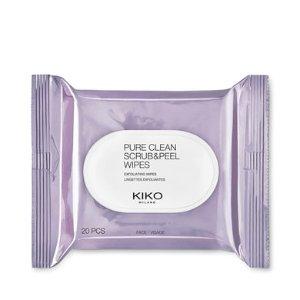 Exfoliating wipes - Pure Clean Scrub&Peel - KIKO MILANO