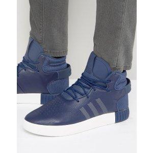 adidas Originals | adidas Originals Tubular Invader Sneakers In Blue