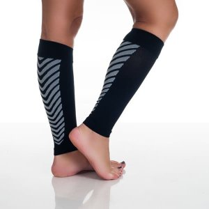 Remedy Calf Sport Compression Running Sleeve Socks Black | Overstock.com Shopping - The Best Deals on Socks