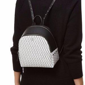 MCM Mini Polke Rombi Studded Backpack