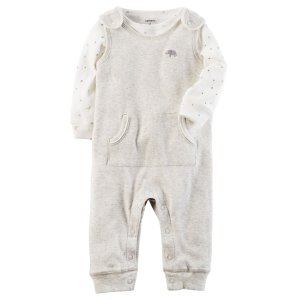 Baby Boy 2-Piece Babysoft Coverall Set | Carters.com