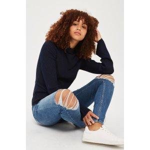 Topshop Jamie Super Rip Skinny Jeans   Nordstrom