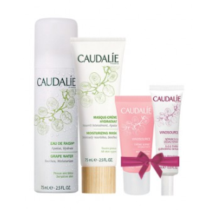 Dealmoon Grape Water & Vinosource Exclusive Set | Soothes and refreshes the skin - Caudalie