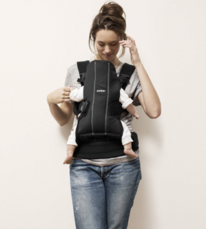 $41.06BABYBJORN Baby Carrier We - Black, Cotton