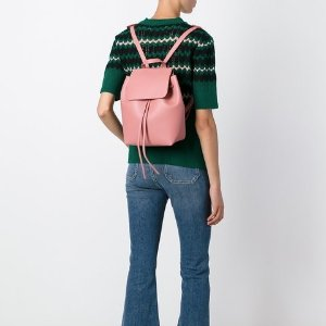 Mansur Gavriel Mini Drawstring Backpack - Farfetch