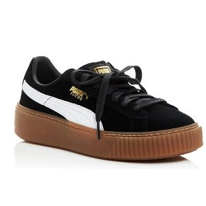 PUMA Core Lace Up Platform Sneakers | Bloomingdale's