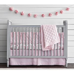 Elsie Spindle Convertible Crib | Pottery Barn Kids