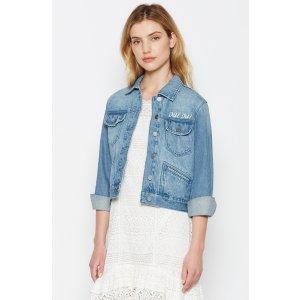 Women's Runa Denim Jacket made of Cotton | Women's Sale by Joie