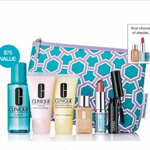 Free 7-pc Giftwith $28 Clinique purchase @ Bon-Ton