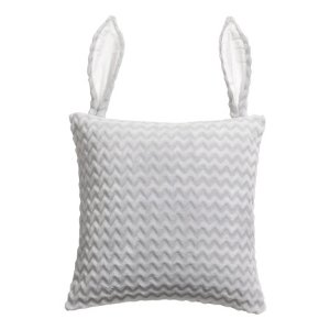 Cushion Cover with Ears | Light gray | H&m home | H&M US