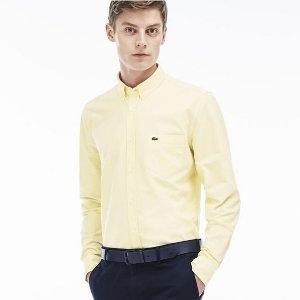 $48.99($98)Lacoste Men's Regular Fit Oxford Woven Shirt