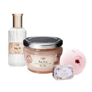 The Sabon ® Rose Tea Kit
