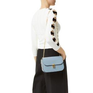 Valentino Garavani Medium Leather Shoulder Bag | Harrods.com