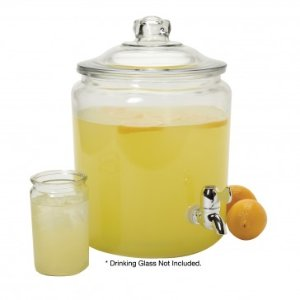 Anchor Hocking 2 gal. Heritage Hill Glass Jar w/ Plastic Spigot - Summer Dining & Entertaining Sale - Sale