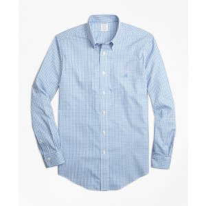 Non-Iron Regent Fit Gingham Sport Shirt - Brooks Brothers