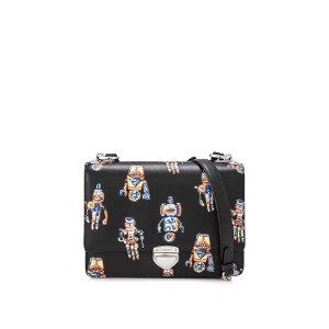 Prada Saffiano City Calf Paradigme Handbag 31cm