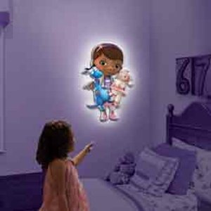 Amazon.com: Uncle Milton - Wall Friends - Doc McStuffins: Toys & Games