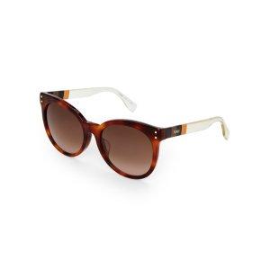 FF0083/S Havana Cat Eye Sunglasses - Century 21