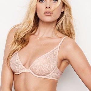 Unlined Plunge Demi Bra - Victoria's Secret