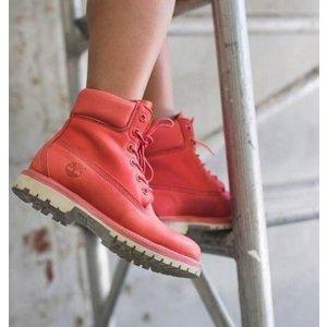 WOMEN'S RUBY RED 6-INCH PREMIUM WATERPROOF BOOTS