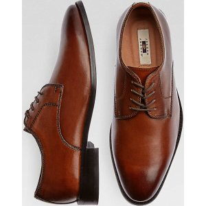 Joseph Abboud Tonal Brown Lace Up Shoes - Men's Dress Shoes   Men's Wearhouse