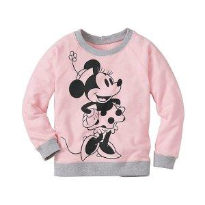 Girls Disney Minnie Mouse Sweatshirt | Girls Sweaters Hoodie