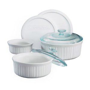 CorningWare® French White® 7-pc Casserole Set