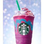 New Color and Flavor Changing Unicorn Frappuccino @ Starbucks