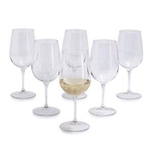 Sur La Table by Bormioli Rocco White Wine Glasses, Set of 6 | Sur La Table