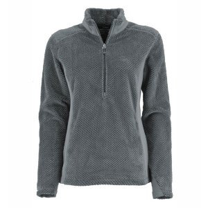 White Sierra Diamond Fleece 1/4 Zip - Women's