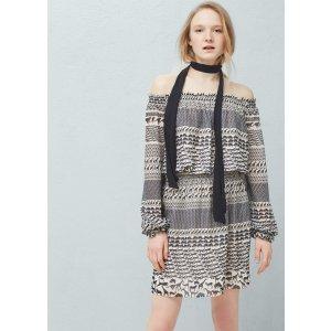 Flowy print dress -  Women | OUTLET USA