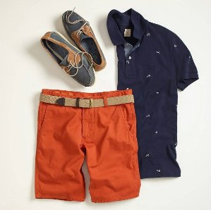 40% Off Summer Shorts, Tees, and Polos @ Dockers