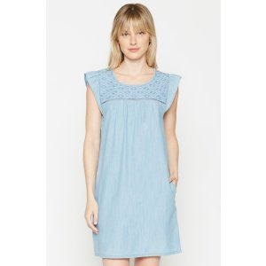 Women's Anandi Chambray Dress made of Cotton | Women's Clothing and Accessories by Joie