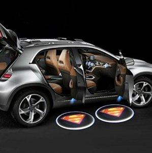 $11.99炫酷 iTimo 超人图案无线LED 自动感应灯,2只装