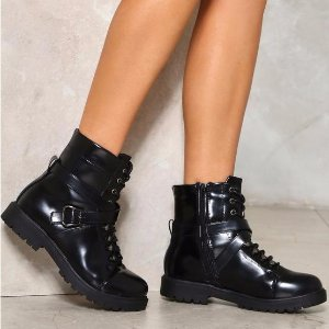 Take a Hike Patent Boot | Shop Clothes at Nasty Gal!