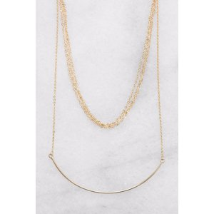 South Moon Under Multi Layer Chain With Curved Bar